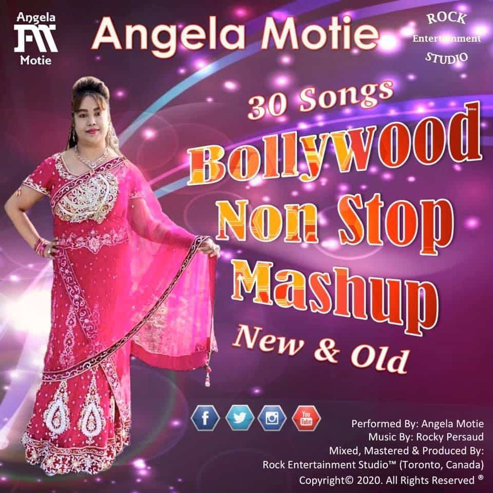 Angela Motie 30 Bollywood Songs Mashup