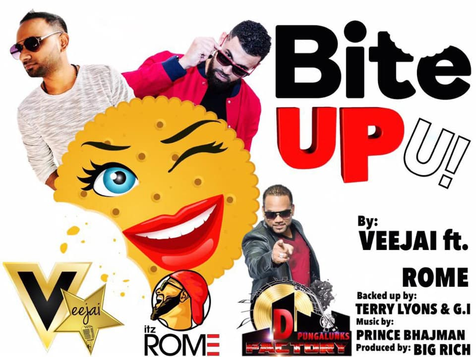Bite Up By Veejai Ramkissoon & Rome (2019 Chutney Music)
