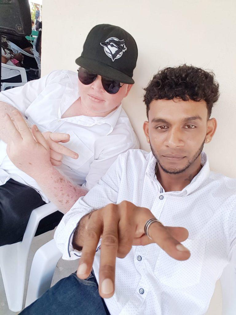 Bunty Singh & White Boy