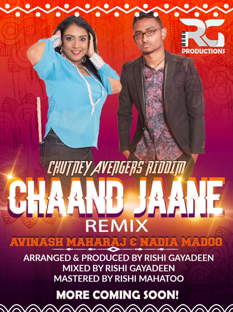 Chaand Jaane Kahan By Avinash Maharaj & Nadia Madoo (2019 Chutney Music)
