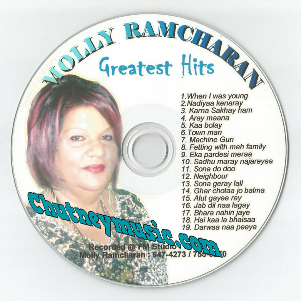 Molly Ramcharan - Greatest Hits