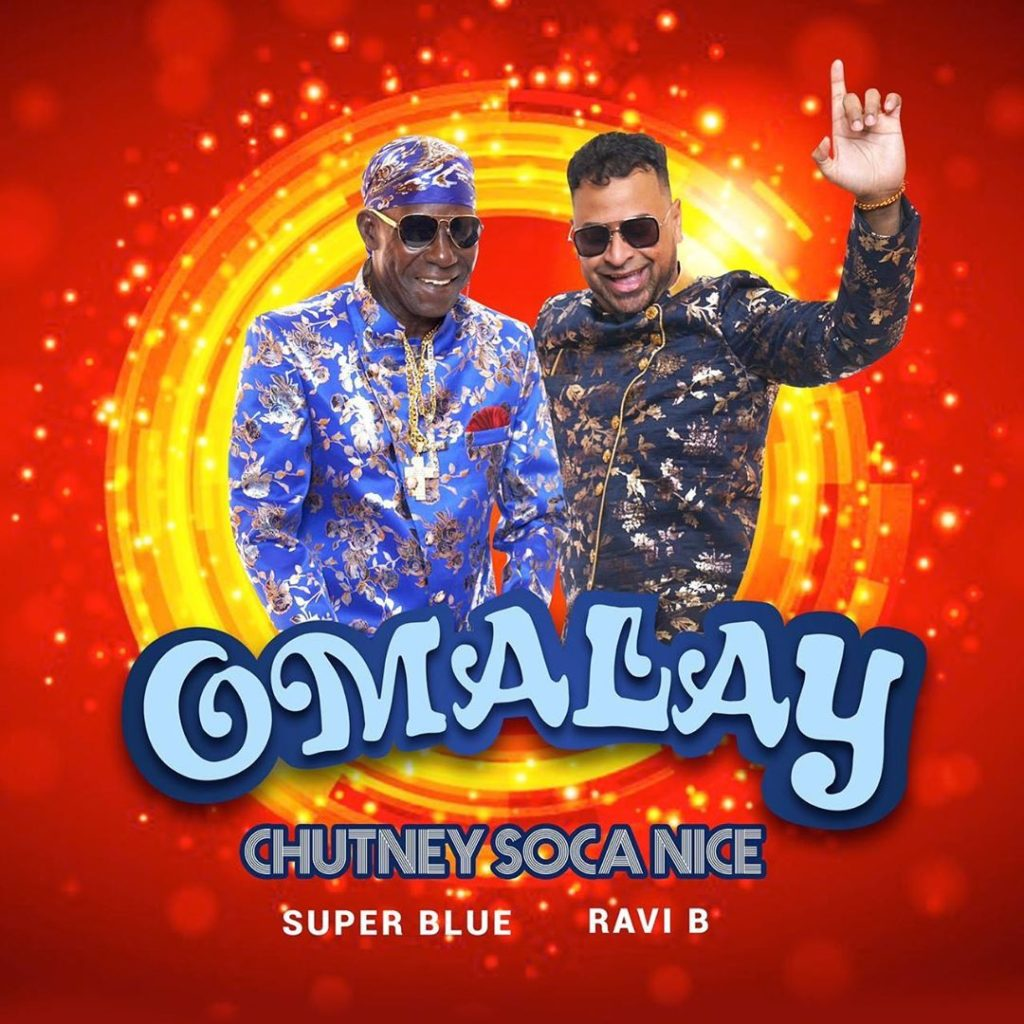 Omalay (chutney Soca Nice) Super Blue X Ravi B [official Lyric Video]
