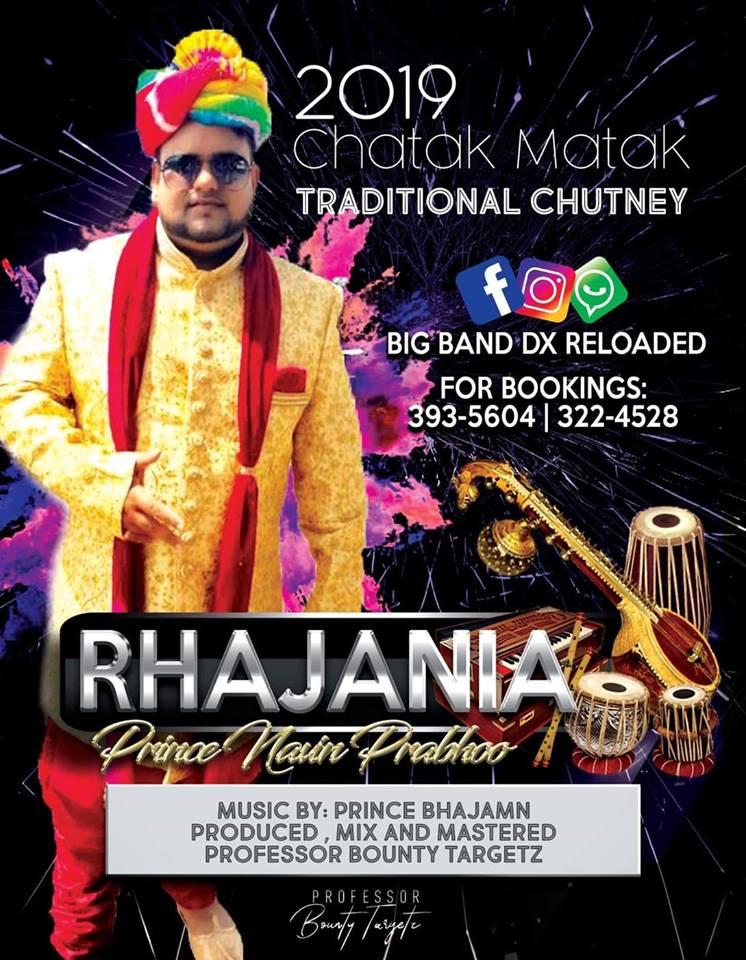 Rhajania By Prince Navin (2019 Traditional Chatak Matak Chutney)
